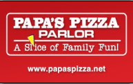 Papas Pizza Gift Card